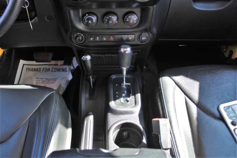2015 Jeep Wrangler Unlimited 4WD 4dr Sahara Altitude, available for sale in Great Neck, NY