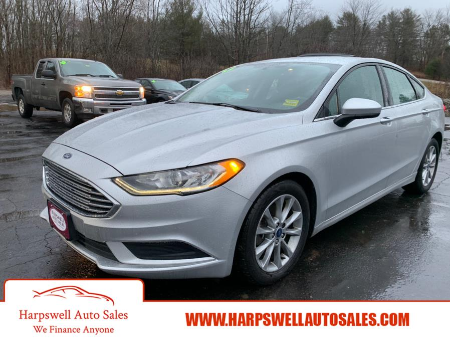 Used Ford Fusion SE FWD 2017 | Harpswell Auto Sales Inc. Harpswell, Maine