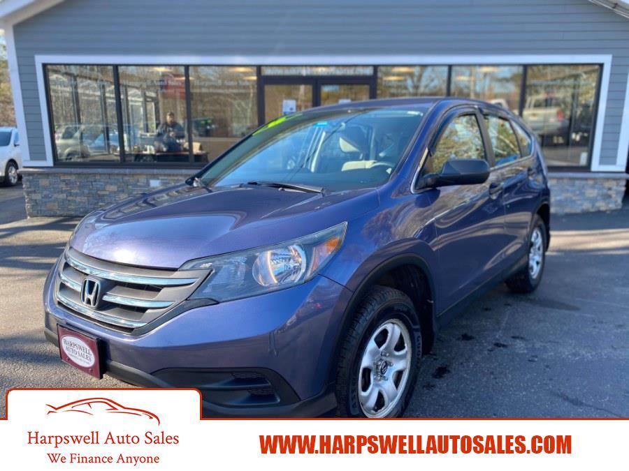 Used Honda CR-V 2WD 5dr LX 2013 | Harpswell Auto Sales Inc. Harpswell, Maine