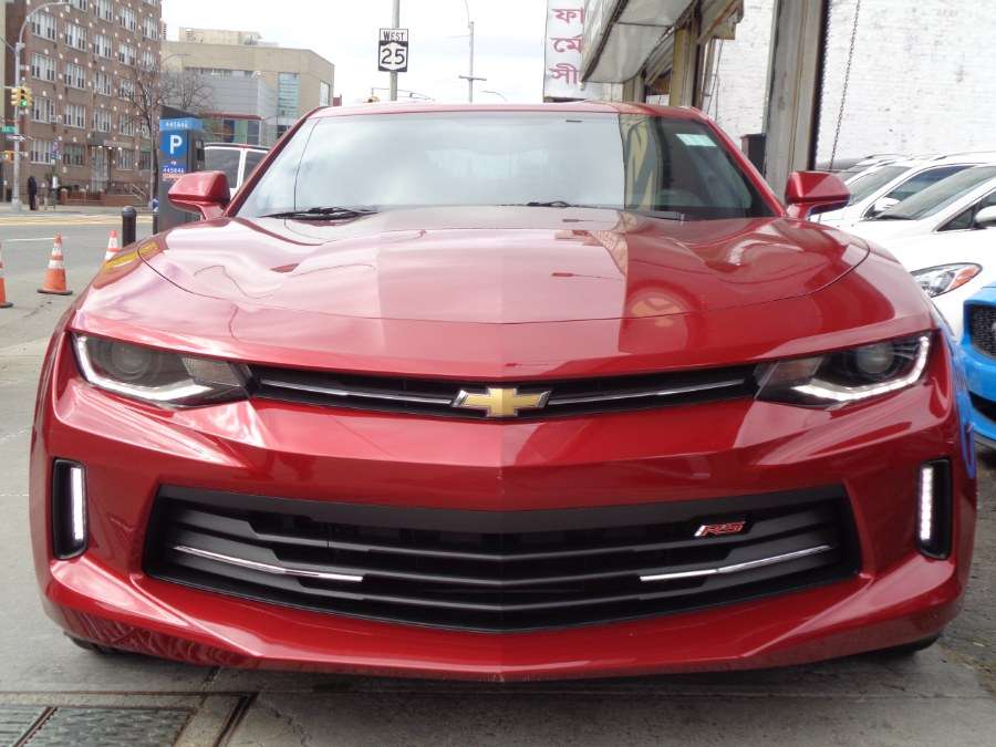 Used Chevrolet Camaro Coupe 1LT V6 RS Package 2016 | Top Speed Motors LLC. Jamaica, New York