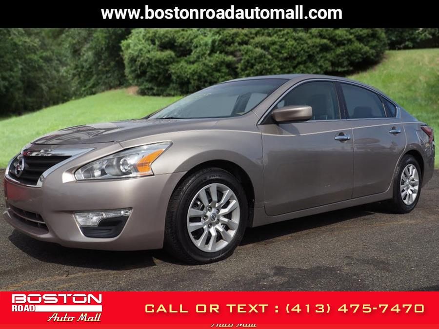 Used Nissan Altima 4dr Sdn I4 2.5 S 2015 | Boston Road Auto Mall. Springfield, Massachusetts
