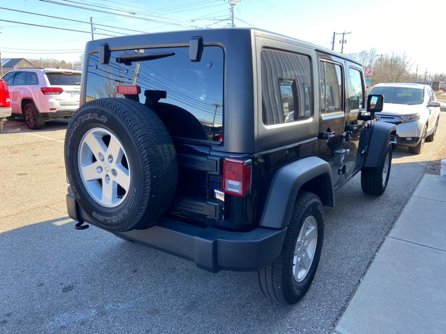 Used Jeep Wrangler JK Unlimited Sport S 4x4 2018   Century Auto And Truck. East Windsor, Connecticut