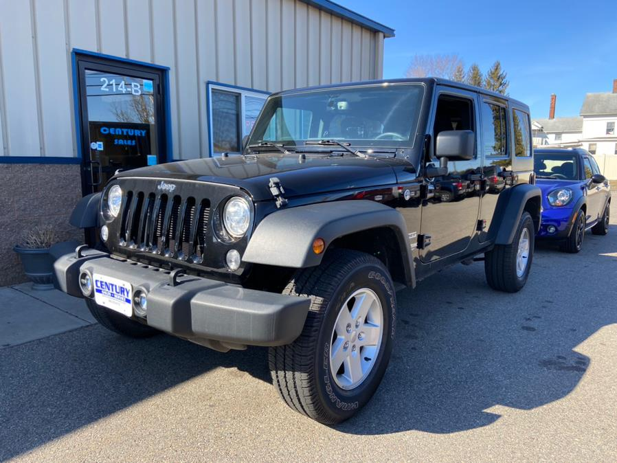 Used Jeep Wrangler JK Unlimited Sport S 4x4 2018 | Century Auto And Truck. East Windsor, Connecticut