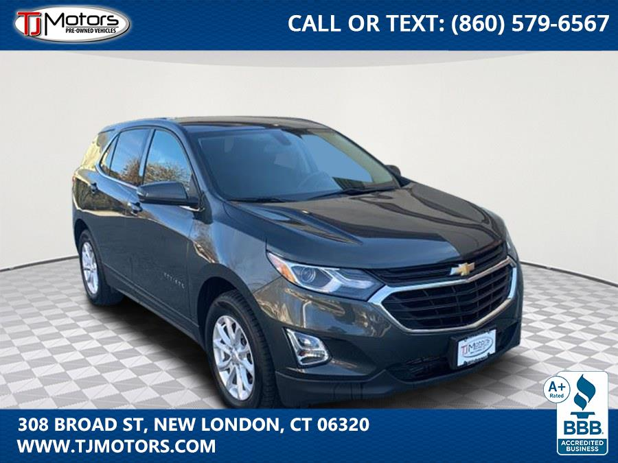 Used Chevrolet Equinox AWD 4dr LT w/1LT 2018 | TJ Motors. New London, Connecticut