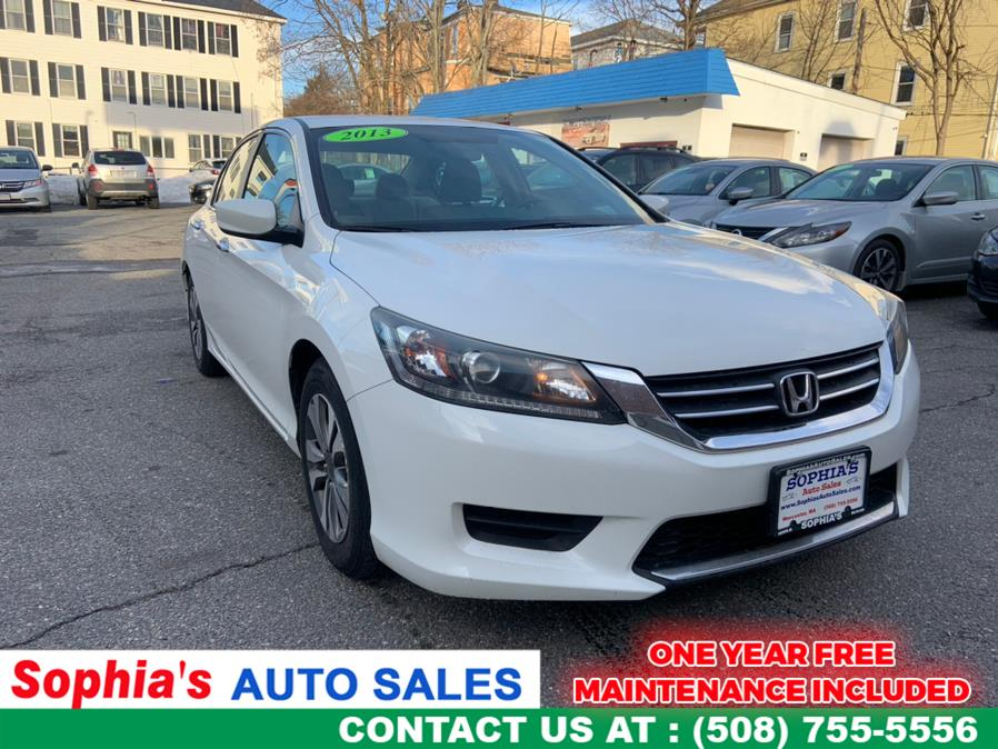 Used 2013 Honda Accord Sdn in Worcester, Massachusetts | Sophia's Auto Sales Inc. Worcester, Massachusetts