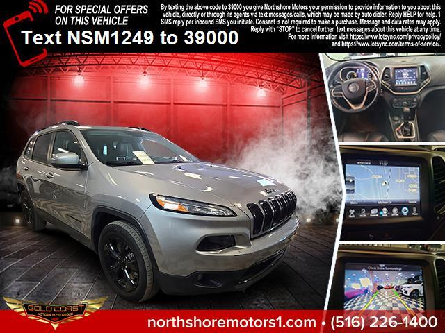2018 Jeep Cherokee Limited 4x4, available for sale in Amityville, NY