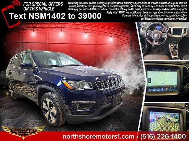 Used Jeep Compass Latitude 4x4 2018   Sunrise Auto Outlet. Amityville, New York
