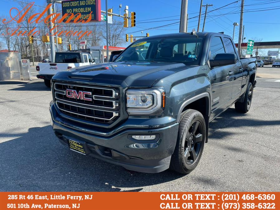 """Used GMC Sierra 1500 4WD Double Cab 143.5"""" 2017   Adams Auto Group . Little Ferry , New Jersey"""