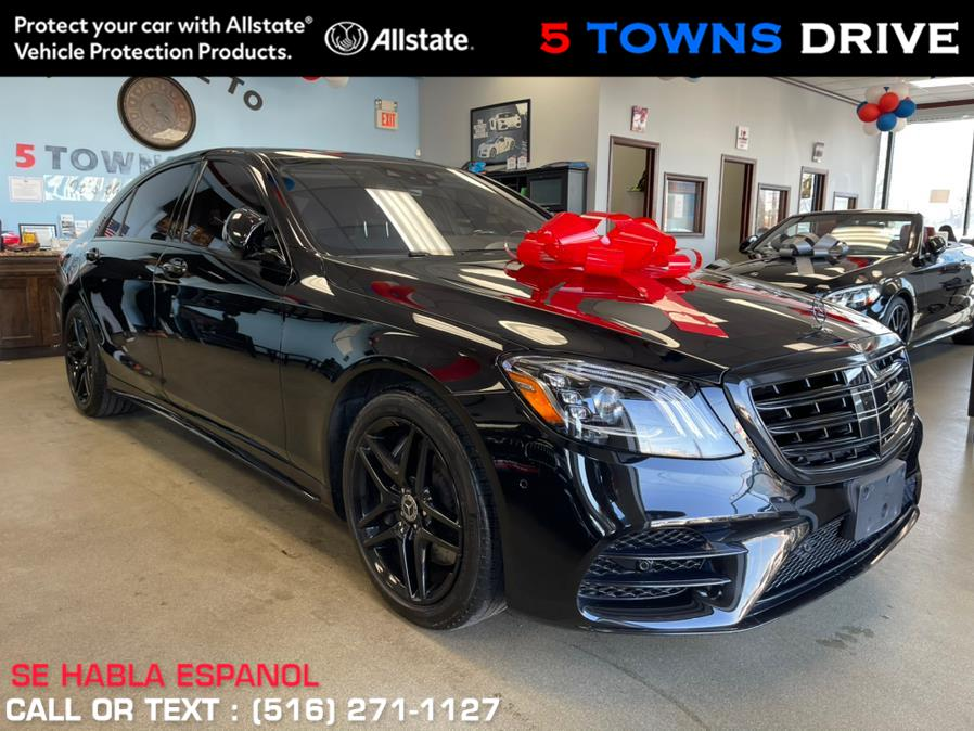Used Mercedes-Benz S-Class AMG SPORT/PKG S 560 4MATIC Sedan 2019 | 5 Towns Drive. Inwood, New York