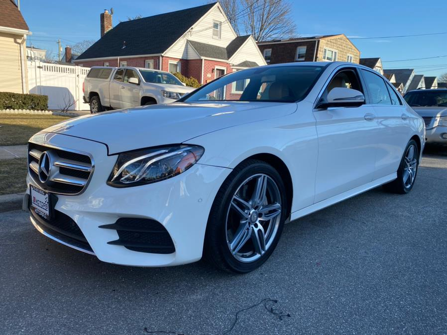 Used Mercedes-Benz E-Class ///AMG Package E 300 Sport 4MATIC Sedan 2017 | Diamond Cars R Us Inc. Franklin Square, New York