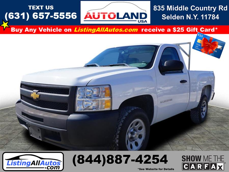 Used 2013 Chevrolet Silverado 1500 in Patchogue, New York | www.ListingAllAutos.com. Patchogue, New York