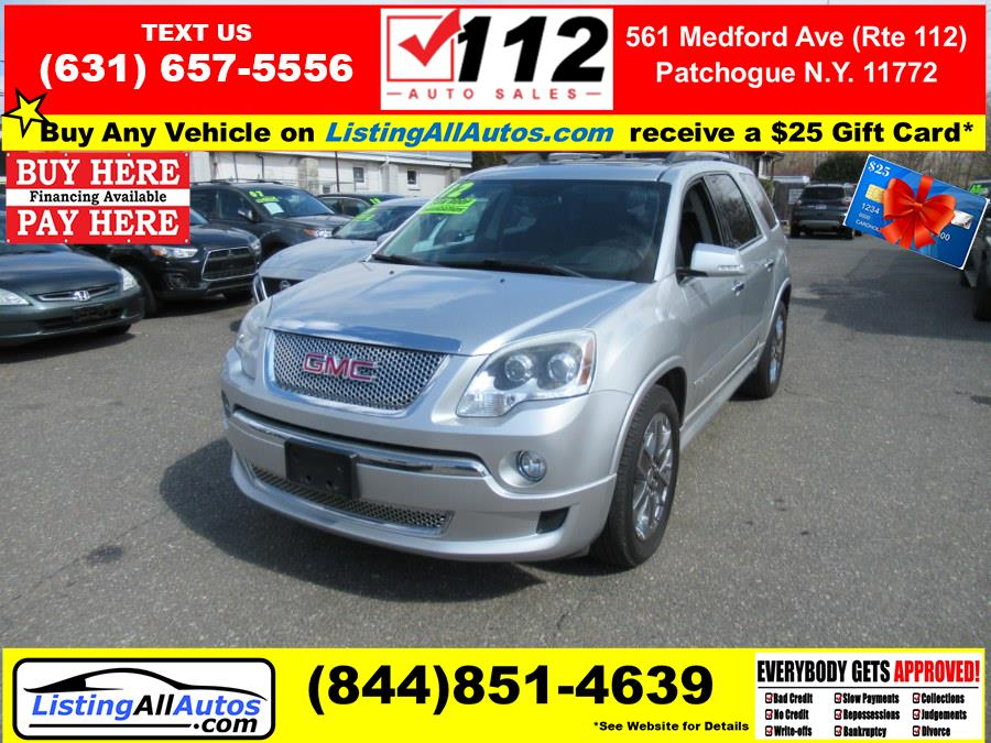 Used 2012 GMC Acadia in Patchogue, New York | www.ListingAllAutos.com. Patchogue, New York