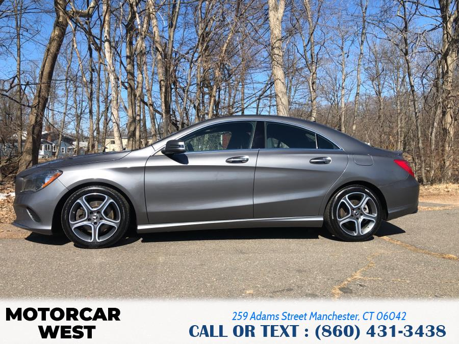 Used Mercedes-Benz CLA CLA 250 4MATIC Coupe 2018 | Motorcar West. Manchester, Connecticut
