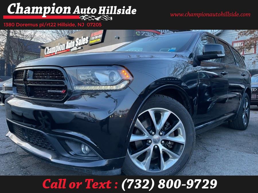 Used 2014 Dodge Durango in Hillside, New Jersey | Champion Auto Sales. Hillside, New Jersey