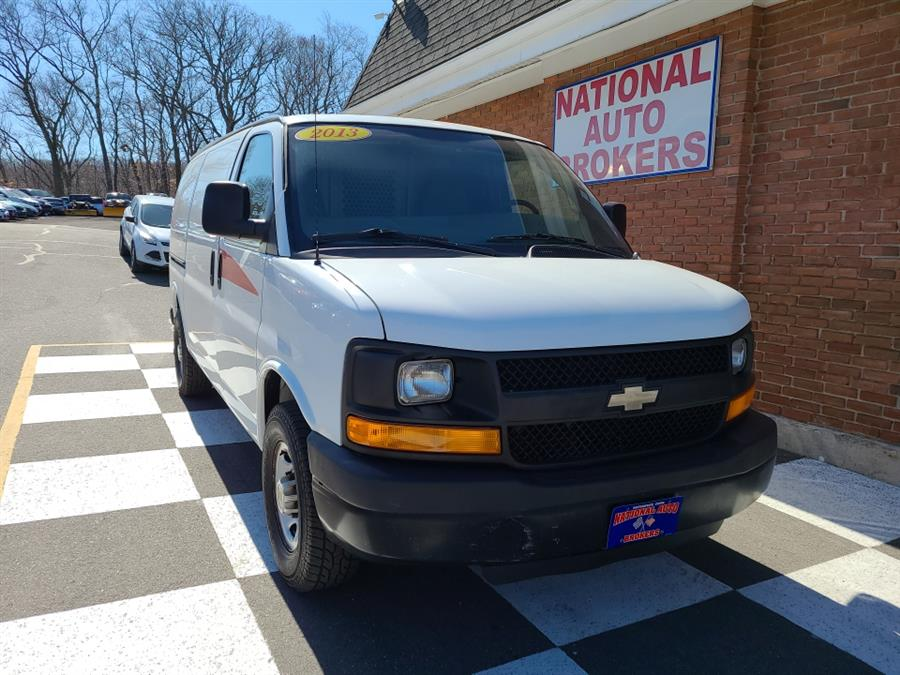 Used 2013 Chevrolet Express Cargo Van in Waterbury, Connecticut | National Auto Brokers, Inc.. Waterbury, Connecticut