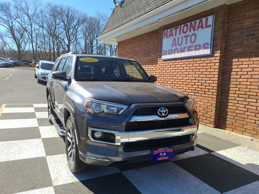 Used Toyota 4Runner Limited 4WD 2017 | National Auto Brokers, Inc.. Waterbury, Connecticut