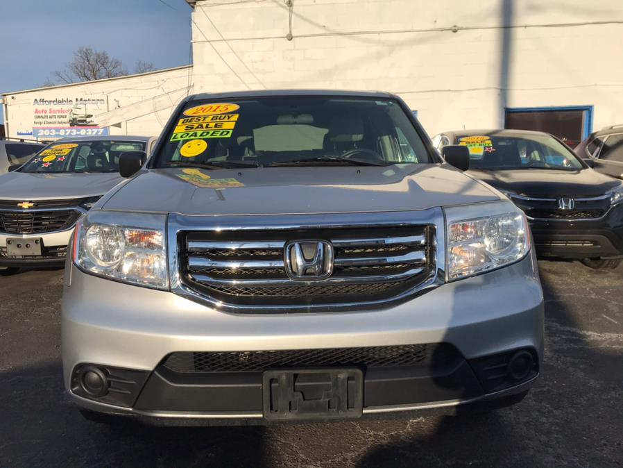 Used Honda Pilot 4WD 4dr LX 2015 | Affordable Motors Inc. Bridgeport, Connecticut