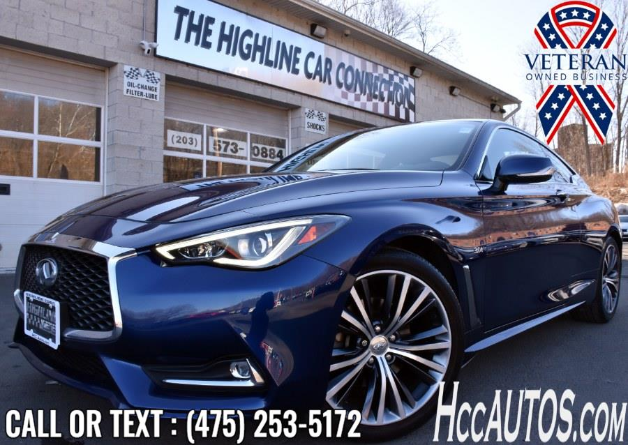 Used INFINITI Q60 3.0t Premium AWD 2017 | Highline Car Connection. Waterbury, Connecticut