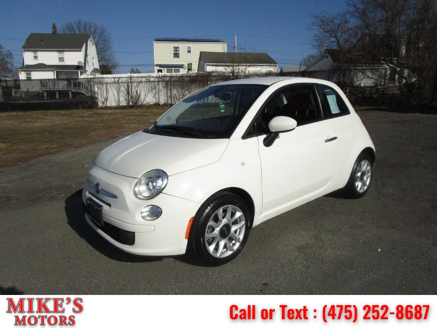 Used 2017 FIAT 500 in Stratford, Connecticut | Mike's Motors LLC. Stratford, Connecticut