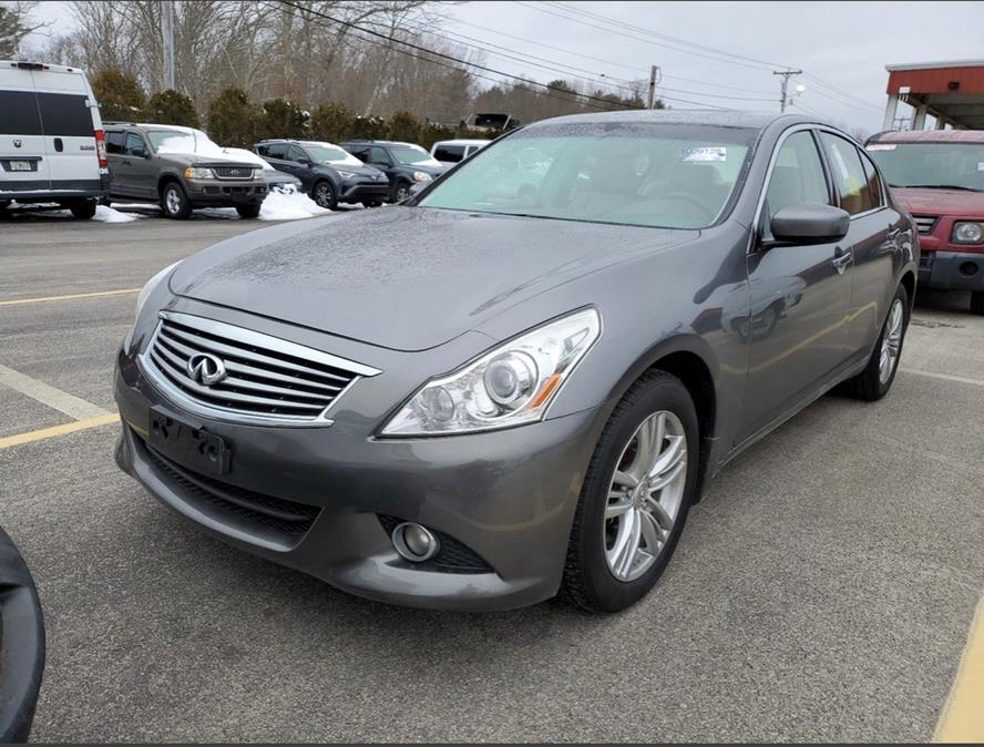 Used 2012 Infiniti G37 Sedan in Brockton, Massachusetts | Capital Lease and Finance. Brockton, Massachusetts