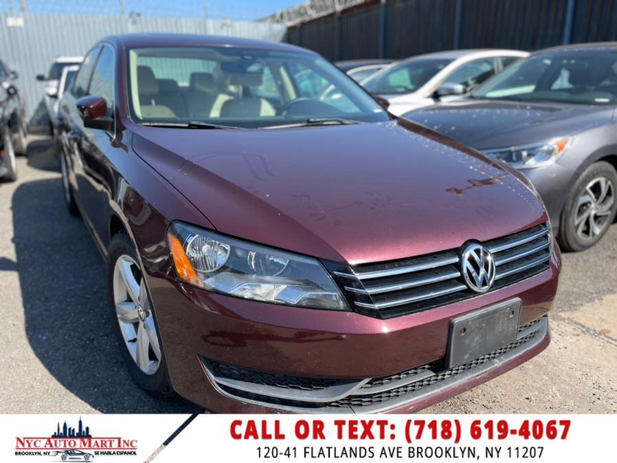 Used 2013 Volkswagen Passat in Brooklyn, New York | NYC Automart Inc. Brooklyn, New York
