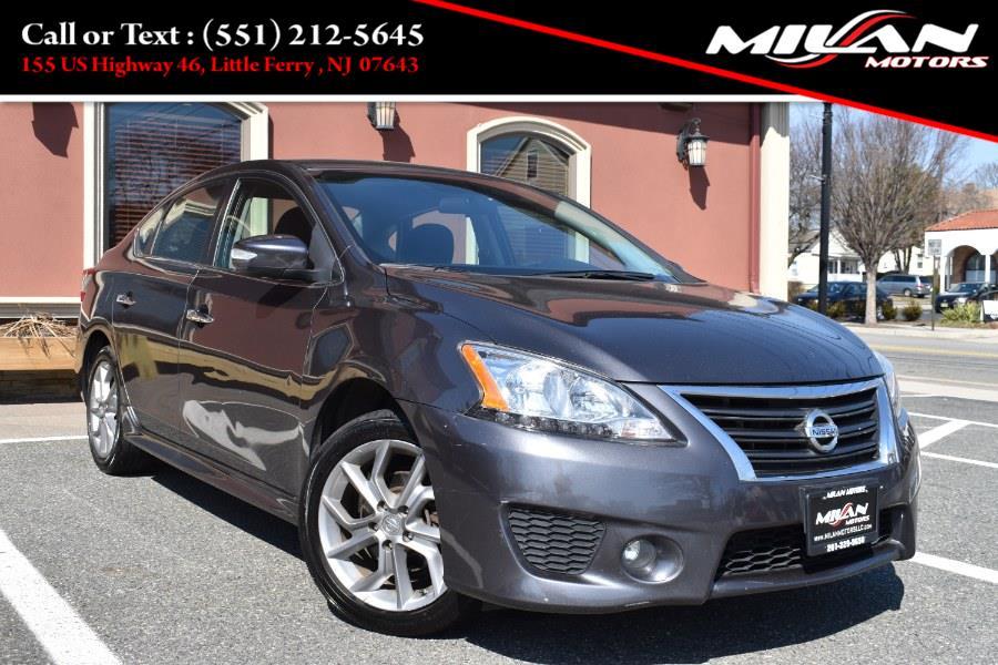 Used Nissan Sentra 4dr Sdn I4 CVT SR 2015 | Milan Motors. Little Ferry , New Jersey