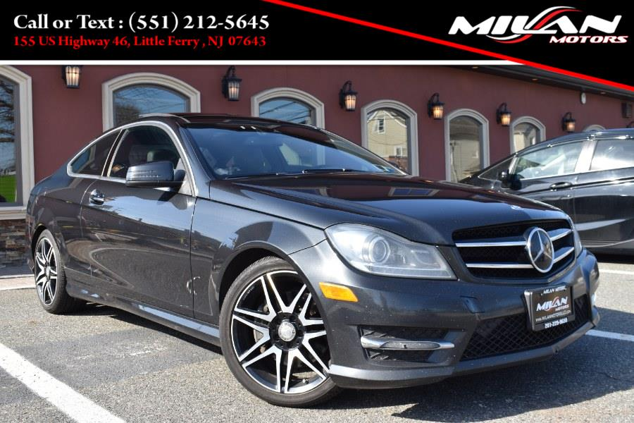 Used Mercedes-Benz C-Class 2dr Cpe C 350 4MATIC 2015 | Milan Motors. Little Ferry , New Jersey