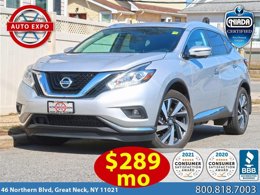 Used 2018 Nissan Murano in Great Neck, New York | Auto Expo Ent Inc.. Great Neck, New York