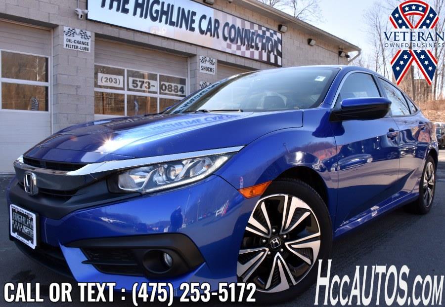 Used 2016 Honda Civic Sedan in Waterbury, Connecticut | Highline Car Connection. Waterbury, Connecticut