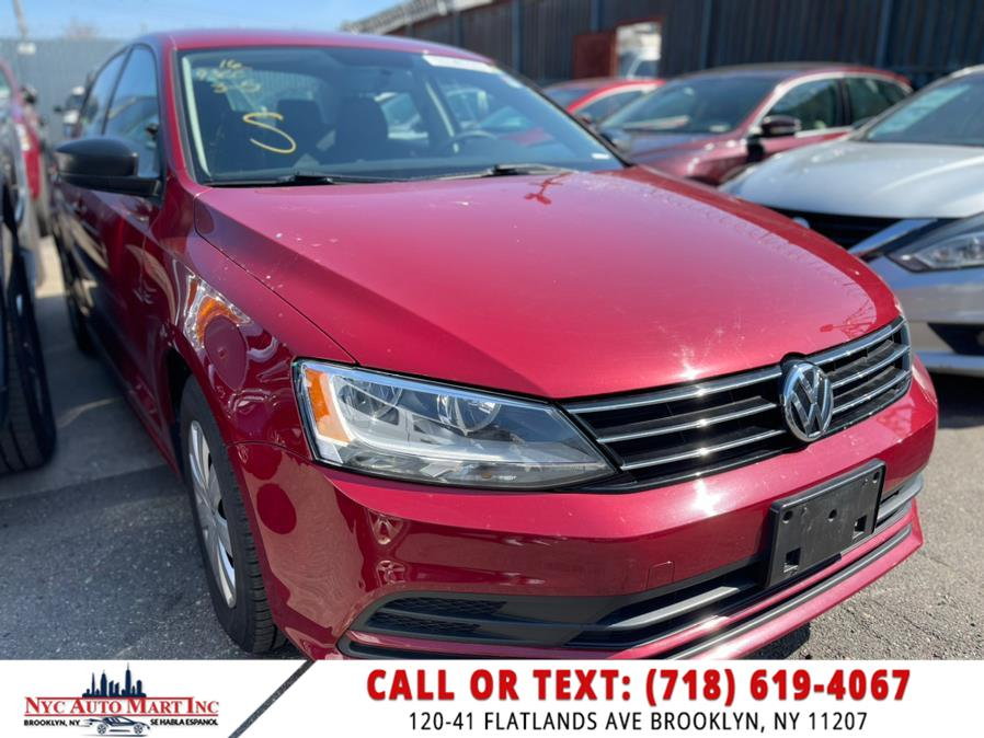 Used Volkswagen Jetta Sedan 4dr  1.4T S 2016 | NYC Automart Inc. Brooklyn, New York