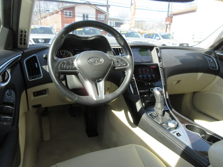 Used INFINITI Q50 3.0t LUXE AWD 2018   Route 27 Auto Mall. Linden, New Jersey