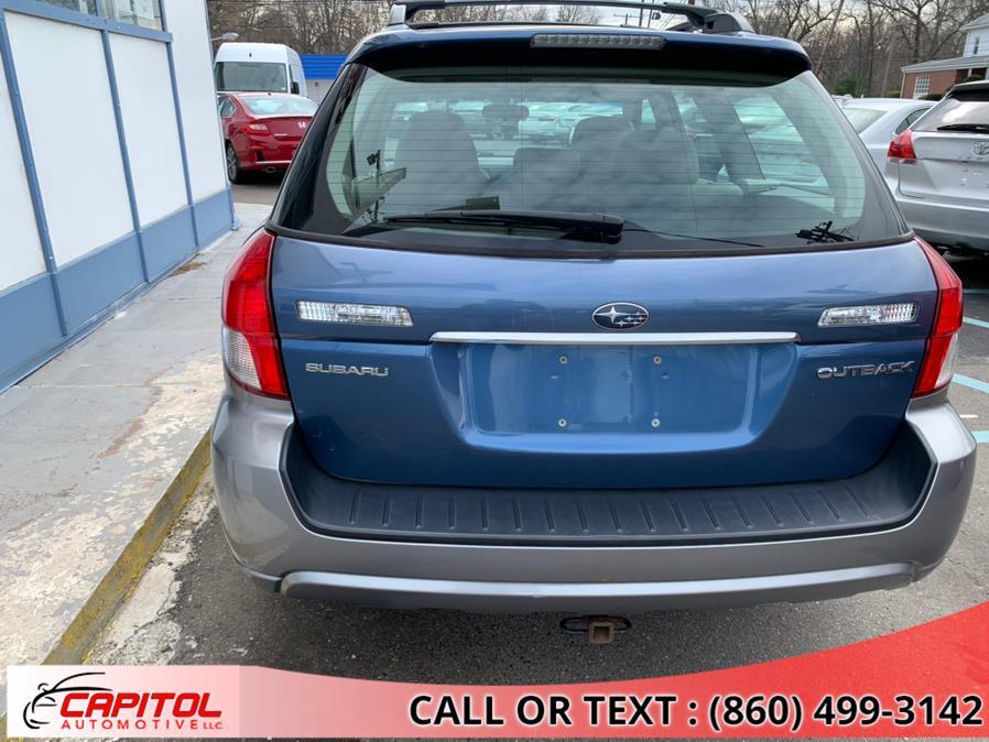 Used Subaru Outback 4dr H4 Auto Ltd w/VDC PZEV 2008 | Capitol Automotive 2 LLC. Manchester, Connecticut