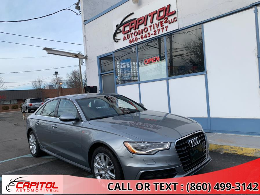 Used 2015 Audi A6 in Manchester, Connecticut | Capitol Automotive 2 LLC. Manchester, Connecticut
