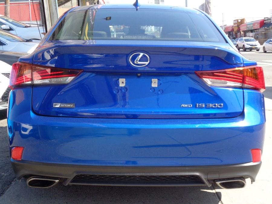 Used Lexus IS300 AWD F Sport 2017   Top Speed Motors LLC. Jamaica, New York