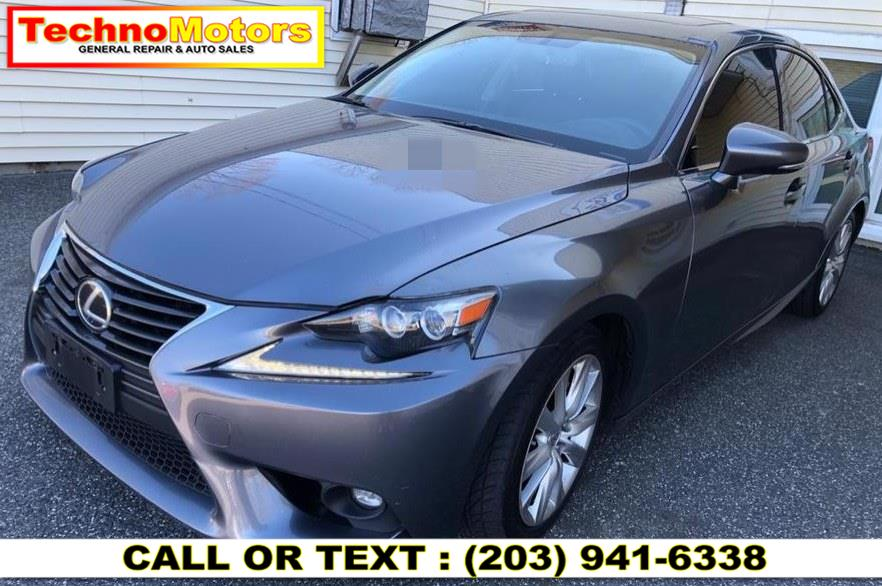 Used Lexus IS 250 4dr Sport Sdn AWD 2015 | Techno Motors . Danbury , Connecticut
