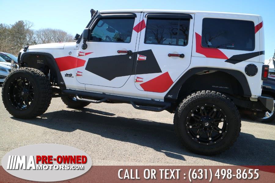 Used Jeep Wrangler Unlimited 4WD 4dr Sahara 2015 | M & A Motors. Huntington, New York