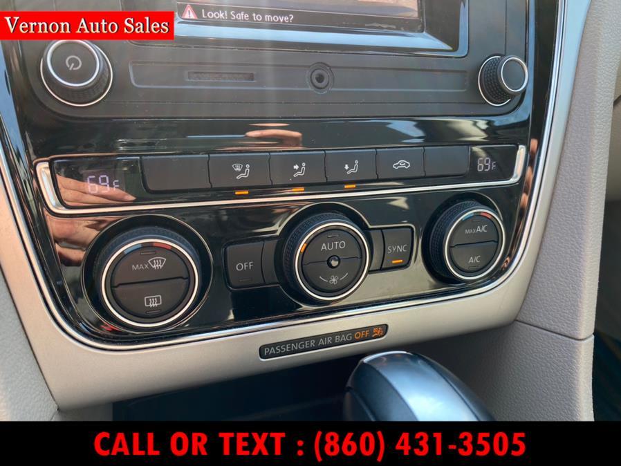 Used Volkswagen Passat 4dr Sdn 1.8T Auto  PZEV 2016   Vernon Auto Sale & Service. Manchester, Connecticut