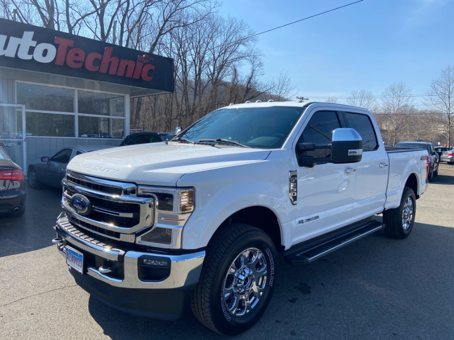 2021 Ford Super Duty F-250 SRW Lariat 4X4 Crew Cab, available for sale in New Milford, CT