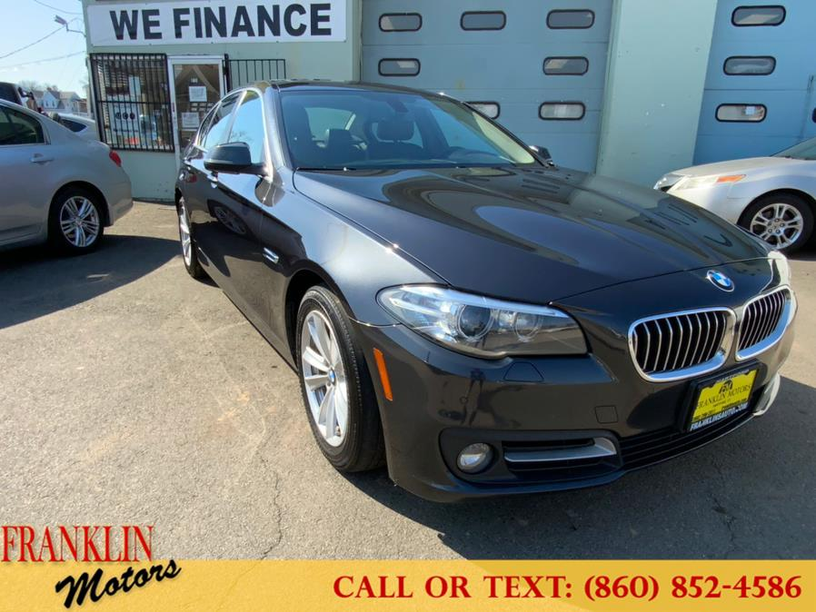 Used 2015 BMW 5 Series in Hartford, Connecticut | Franklin Motors Auto Sales LLC. Hartford, Connecticut
