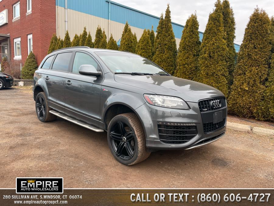 Used 2015 Audi Q7 in S.Windsor, Connecticut | Empire Auto Wholesalers. S.Windsor, Connecticut