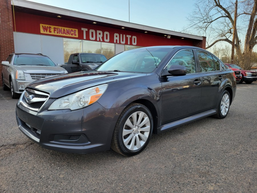 Used Subaru Legacy AWD 4dr Sdn Auto 2.5i Limited Moon Roof Leather 2010 | Toro Auto. East Windsor, Connecticut