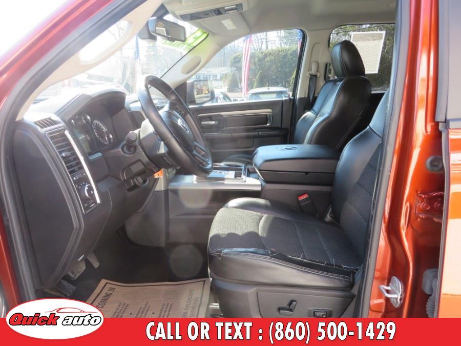 """Used Ram 1500 4WD Quad Cab 140.5"""" Sport 2013   Quick Auto LLC. Bristol, Connecticut"""