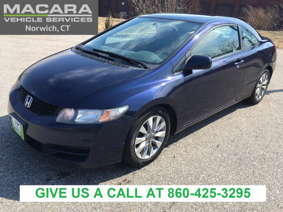 Used 2011 Honda Civic Cpe in Norwich, Connecticut | MACARA Vehicle Services, Inc. Norwich, Connecticut