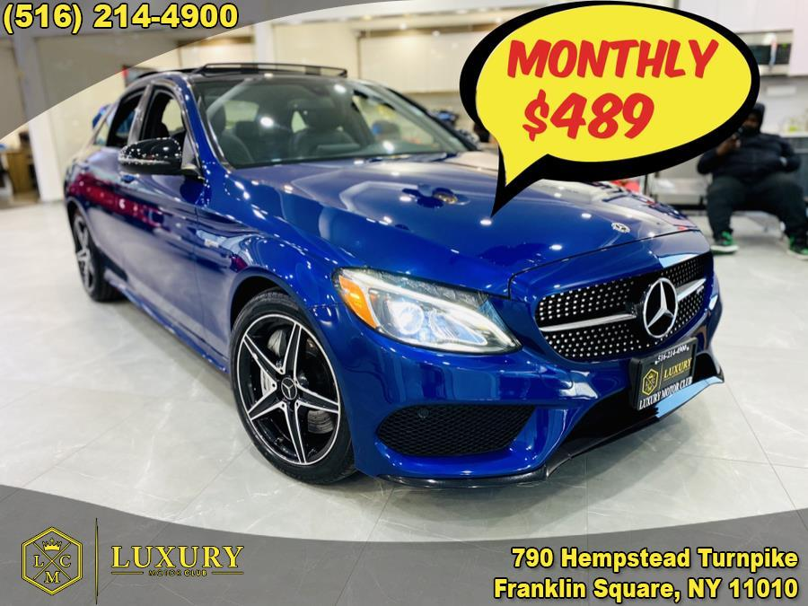 Used 2018 Mercedes-Benz C-Class in Franklin Square, New York | Luxury Motor Club. Franklin Square, New York