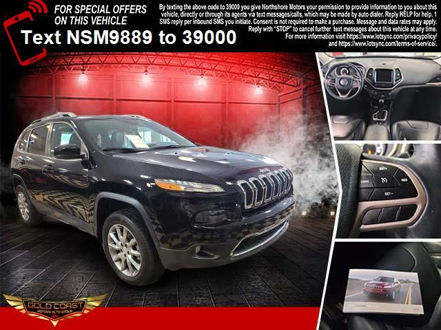 Used Jeep Cherokee Limited 4x4 2017 | Sunrise Auto Outlet. Amityville, New York