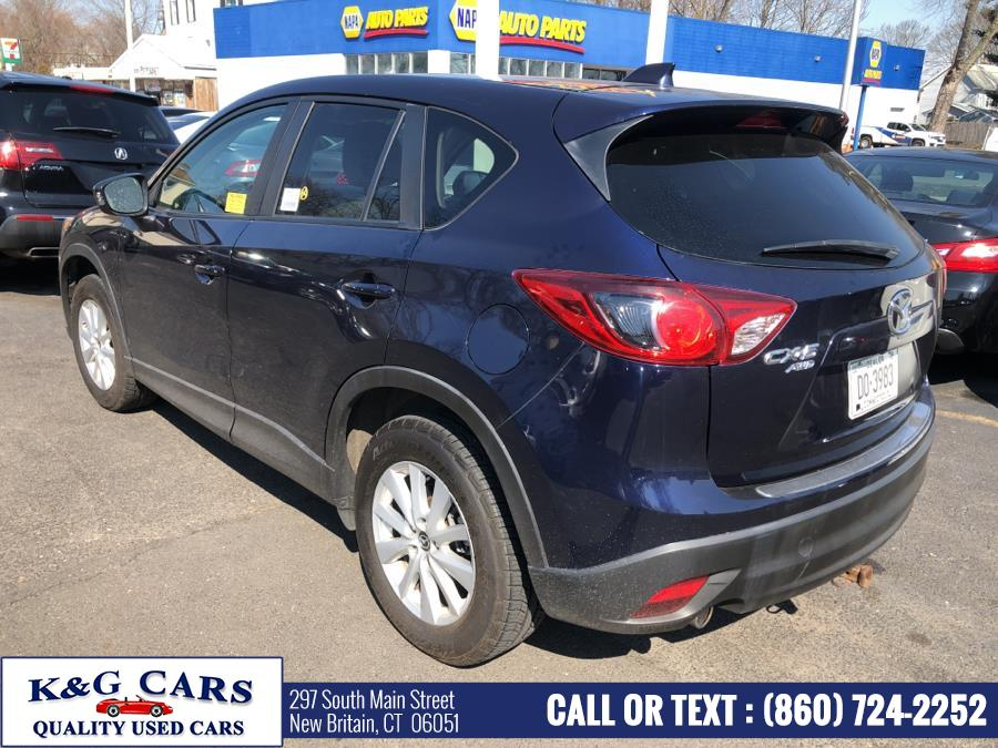 Used Mazda CX-5 AWD 4dr Auto Touring 2013 | K and G Cars . New Britain, Connecticut