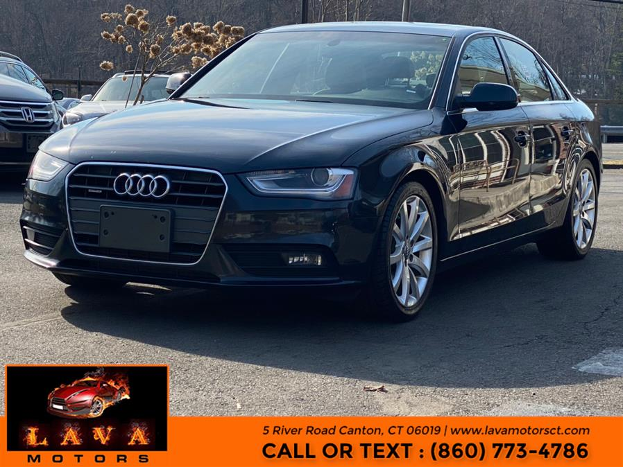 Used 2013 Audi A4 in Canton, Connecticut | Lava Motors. Canton, Connecticut