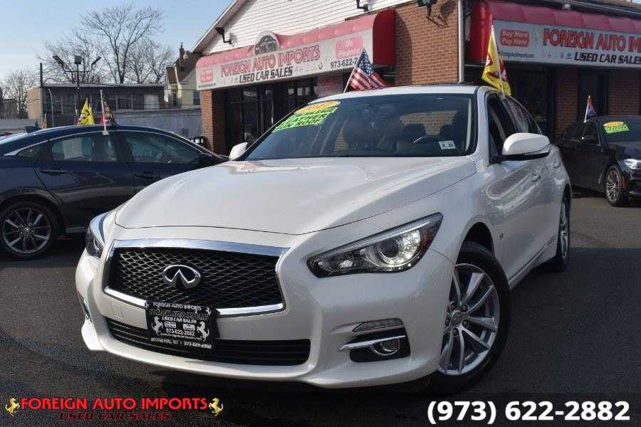 Used 2017 INFINITI Q50 in Irvington, New Jersey | Foreign Auto Imports. Irvington, New Jersey