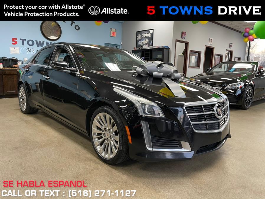 Used Cadillac CTS Sedan 4dr Sdn 2.0L Turbo Luxury AWD 2014 | 5 Towns Drive. Inwood, New York