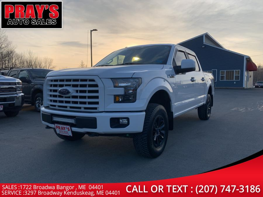Used 2016 Ford F-150 in Bangor , Maine | Pray's Auto Sales . Bangor , Maine